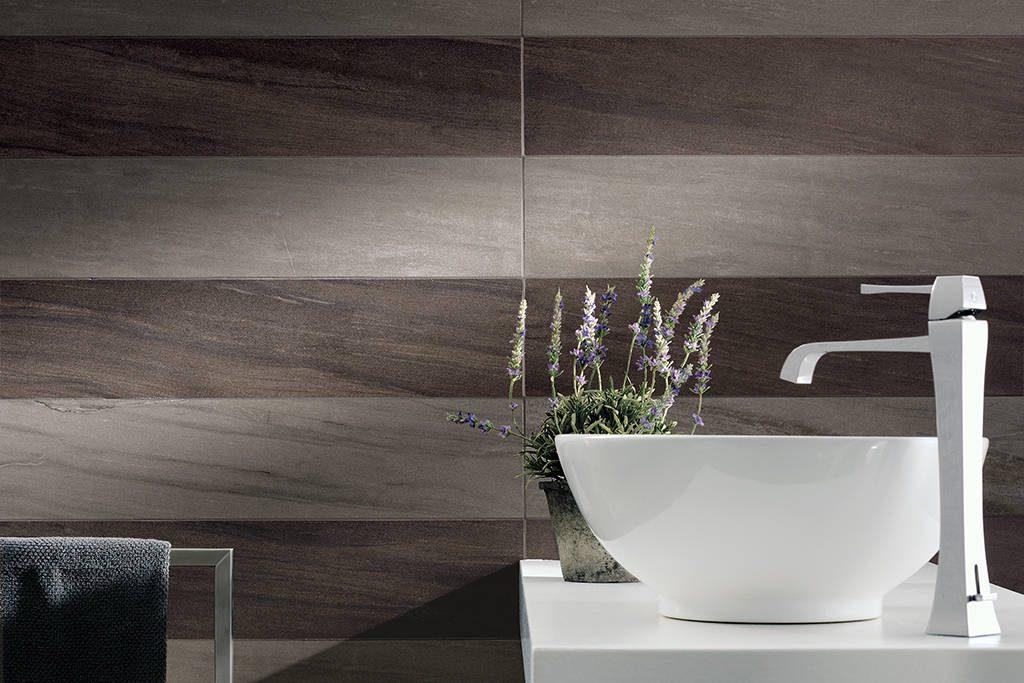 fliesen metalloptik f r boden und bad baukeramik und. Black Bedroom Furniture Sets. Home Design Ideas