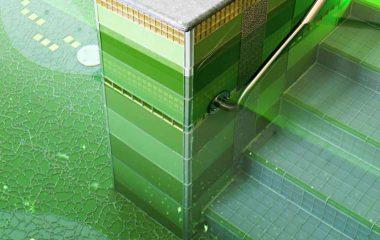 bild mosaikfliesen glasfliesen