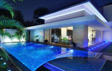 bild mosaikfliesen pool