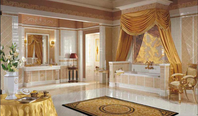 versace badezimmer. Black Bedroom Furniture Sets. Home Design Ideas